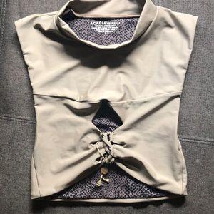 Acacia swimwear amalfi top. New.